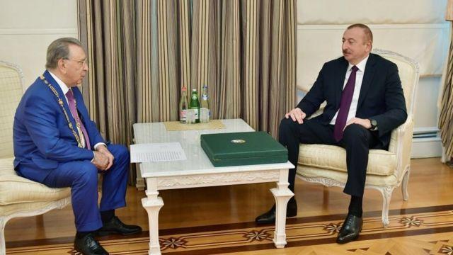 Ramiz Mehdiyev, İlham Əliyev
