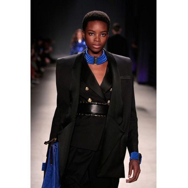 Elle a été découverte en 2010 lors du concours Elite Model Look.