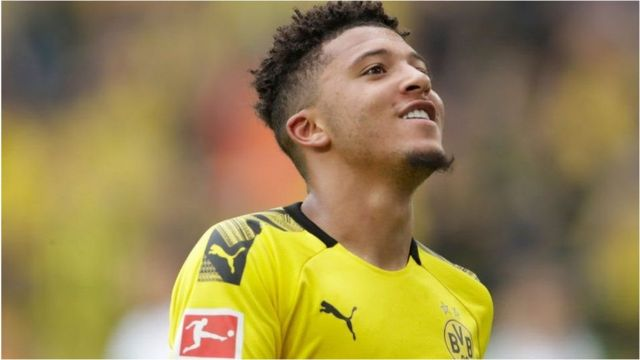 Manchester United inajaribu kumaliza suala la mshahara na kima cha uhamisho kwa winga wa Borussia Dortmund Jadon Sancho