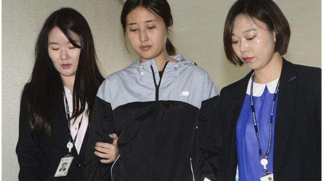 '이화여대 입시 비리' 사건의 당사자인 정유라