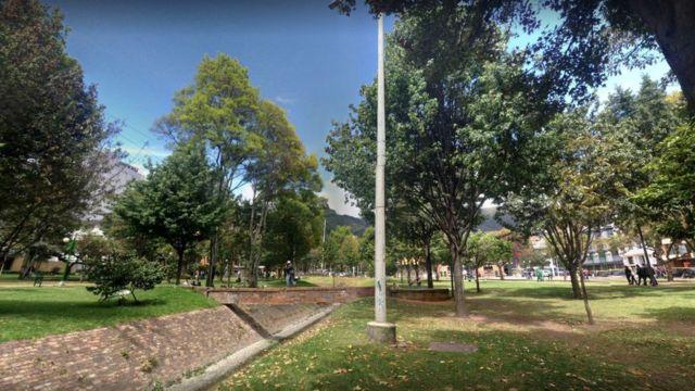 Parque El Virrey en Bogotá