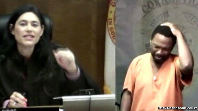 Judge Mindy Glazer recognises Arthur Booth