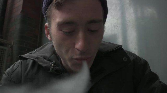 Legal highs addict