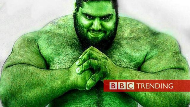 The Iranian Hulk