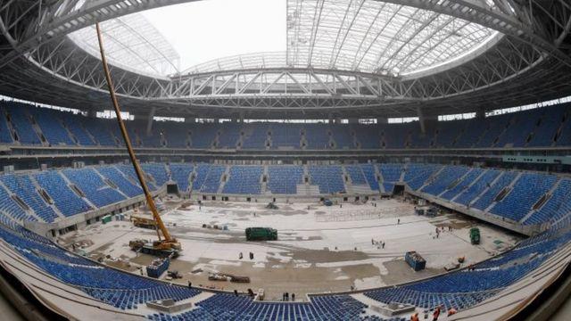 Krestovsky Stadium in Saint Petersburg