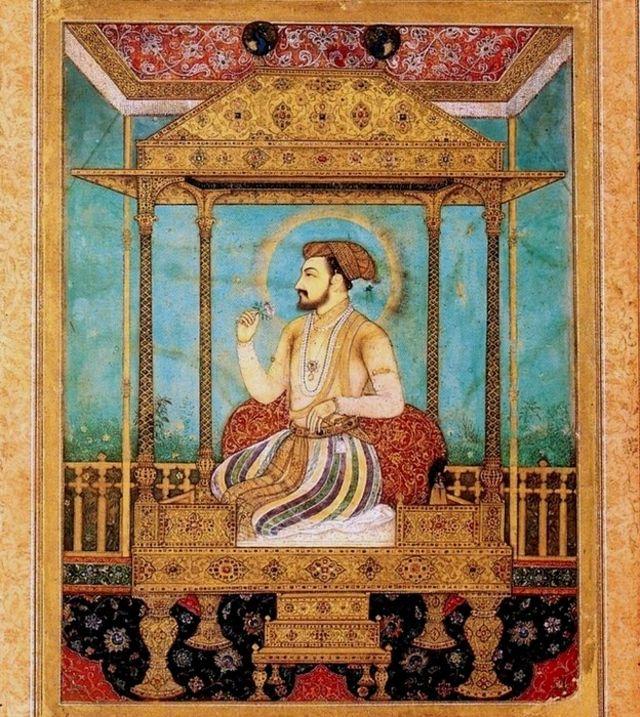Sha Jahan en su Trono del Pavo real