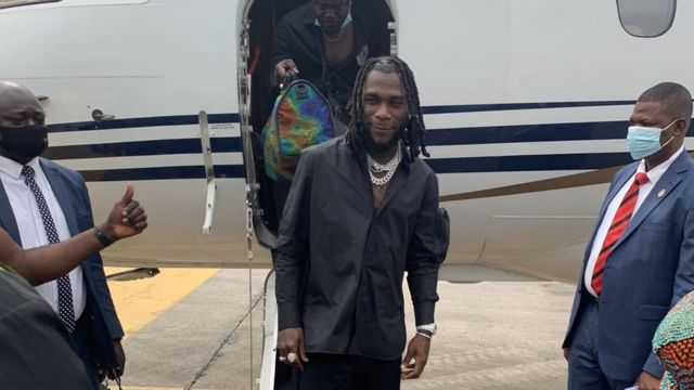 "Burna Boy homecoming: Damini Ogulu AKA ""Burna Boy"" Grammys homecoming  concert fotos from Port Harcourt - BBC News Pidgin"