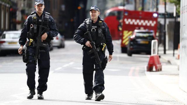 London, polisi