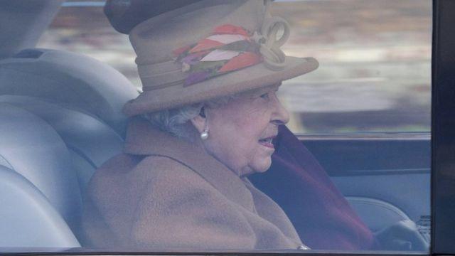 Rainha em Sandringham