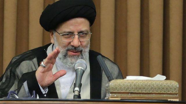 Iranian Judiciary chief Ebrahim Raisi addresses foreign ambassadors in Tehran, Iran (24 June 2019)