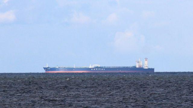 نفتکش ایرانی در دریا