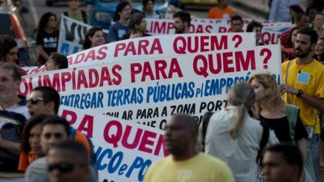 Protesto - AP