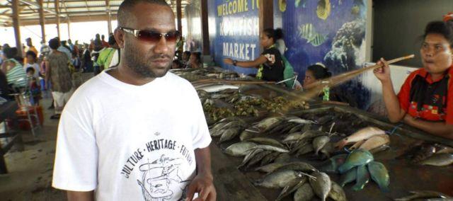 梅苏拉姆是巴布亚新几内亚沿岸深海采矿计划的主要反对者