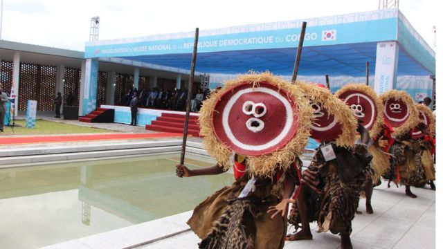 Le nouveau musée du Congo ouvre ses portes à Kinshasa - BBC News Afrique