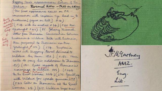Paul McCartney's school book sold for £46k after bidding war