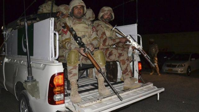 पाकिस्तानी सुरक्षा बल