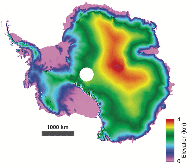 Antarctic revealed in sharper 3D view