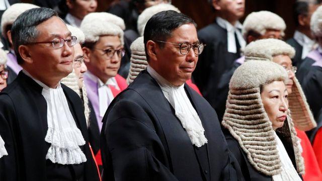 Гонконгские судьи (14 апреля 2020 года)
