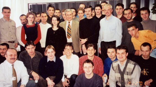 El equipo de Bitdefender en 2001