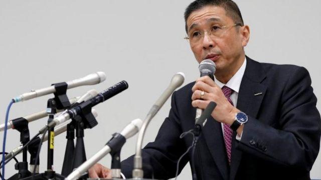 不正が「長きにわたって」行われてきたと考えていると、日産の西川広人CEOは述べた