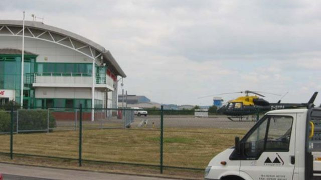 50-year lease signed to reopen Cardiff's heliport