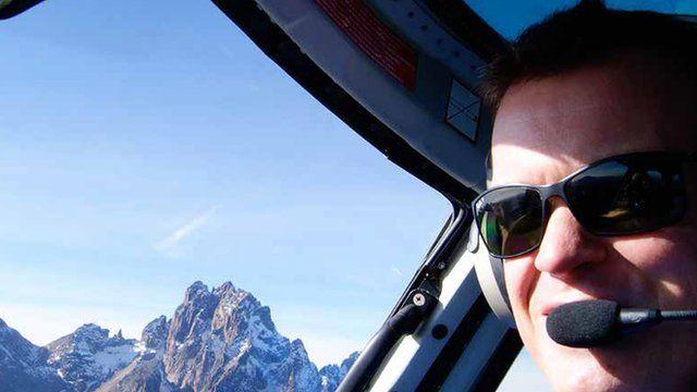 British pilot Roger Gower