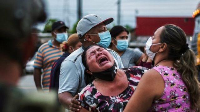 Amotinamientos en cárceles de Ecuador: 3 claves que explican qué hay detrás de la masacre carcelaria que dejó 79 muertos - BBC News Mundo