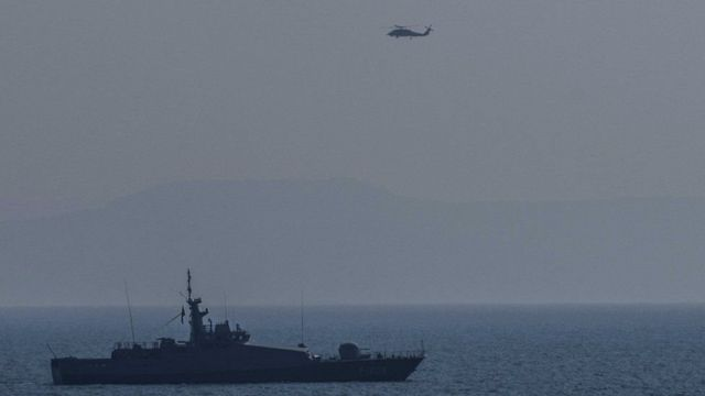 کشتیهای ترکیه و یونان در آبهای میان دو کشور گشت میزنند