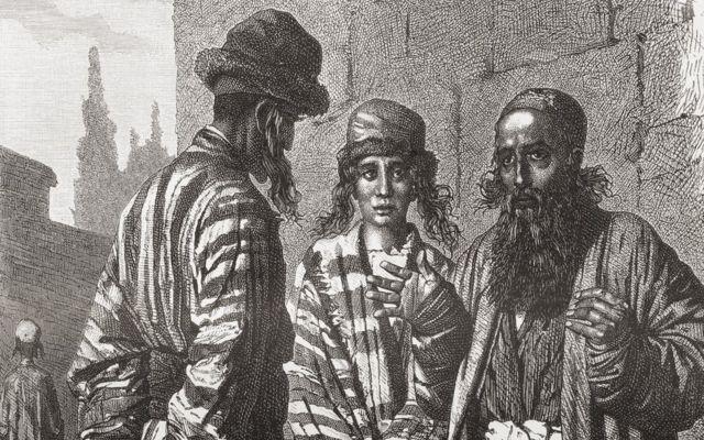 ilustração de judeus