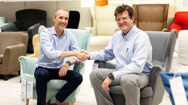 Los directores de Ikea y Falabella