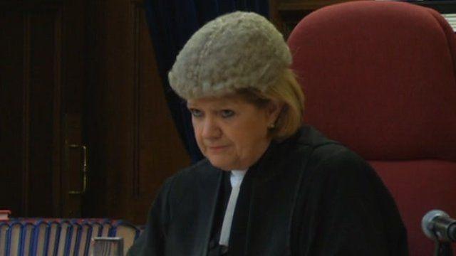 Lady Justice Hallett,