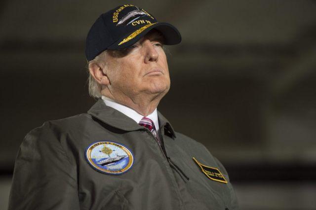 Donald Trump, el presidente de Estados Unidos.