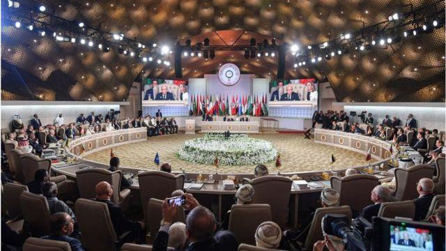 قمة الجامعة العربية في تونس 2019
