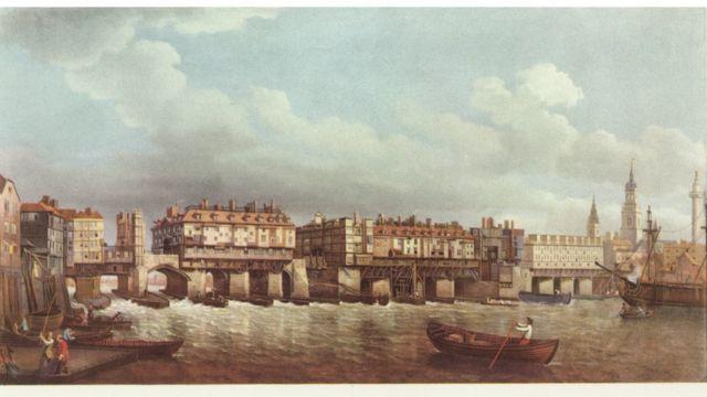 Puente de Londres medieval