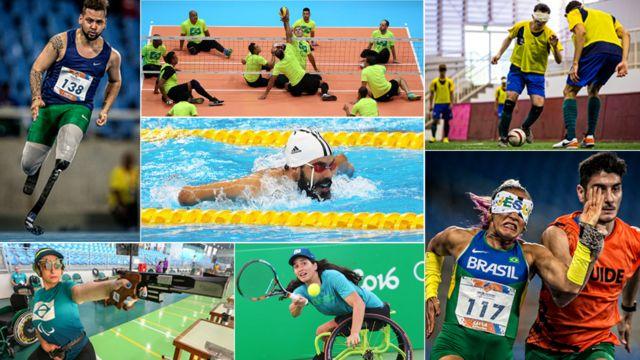 Atletas paralímpicos brasileiros