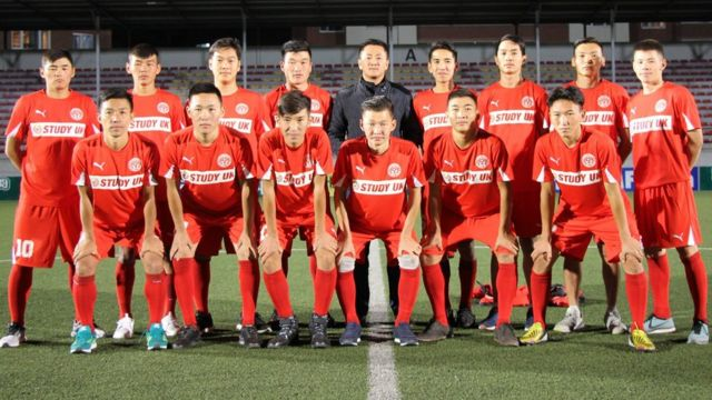 Bayangol (with Enki centre) is now a youth-focused club