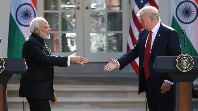Trump Modi