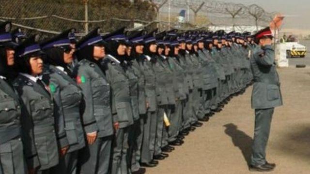 ضابطات في أفغانستان
