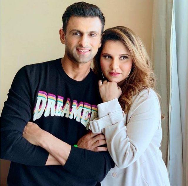 सानिया मिर्ज़ा और शोएब मलिक