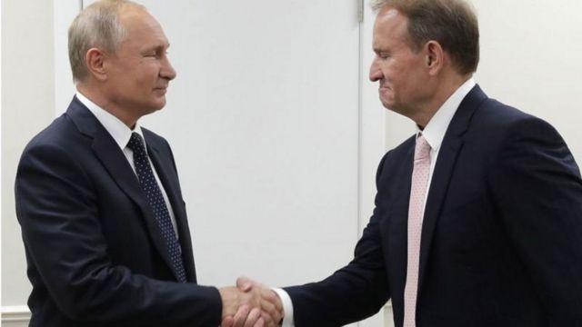 Medvedchuk is Putin's godfather