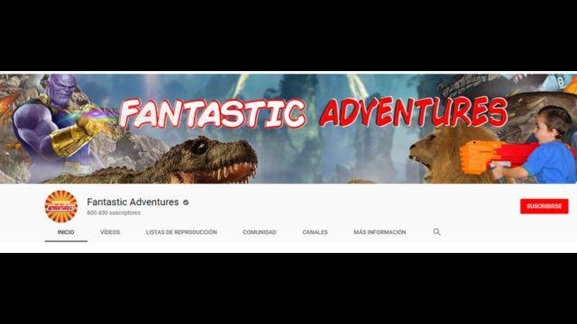 Imagen del canal de YouTube Fantastic Adventures