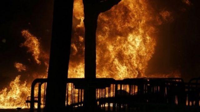 Incendio en Berkeley