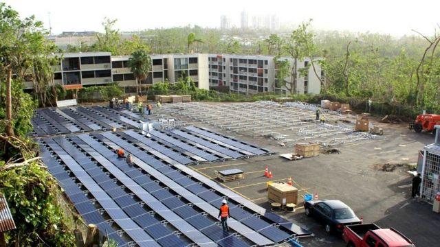 Tesla, сонячні батареї, пуерто-рико
