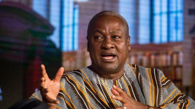 Shugaba John Mahama