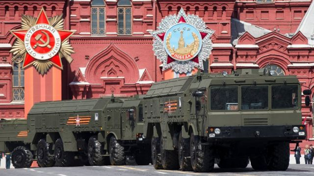 Misiles rusos Iskander M