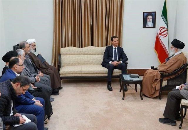 دیدار با بشار اسد