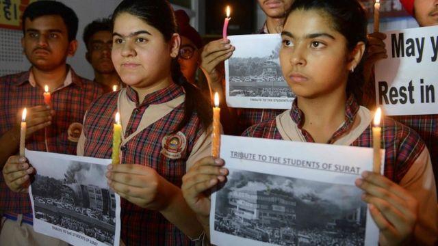 India tuition centre fire kills 20 in Gujarat state