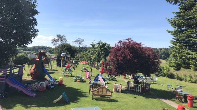 Caerwent pub's bid to save children's play area