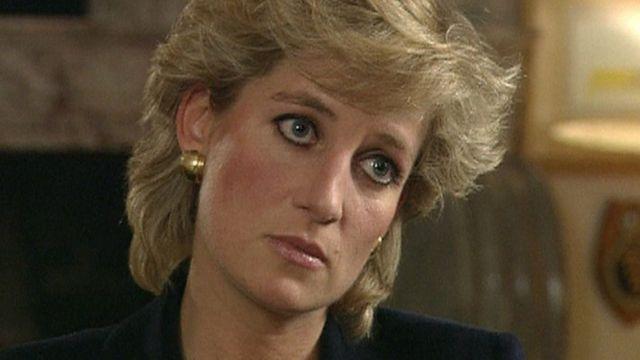 La princesa Diana en entrevista con la BBC