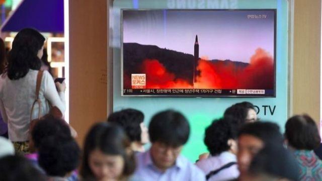 เกาหลีเหนือทดสอบขีปนาวุธ